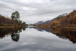 Loch Affric in late autumn