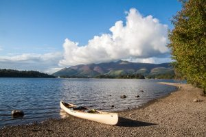The last days of summer on Derwent Water